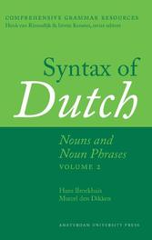 Syntax of Dutch: Nouns and noun phrases volume 2 Comprehensive Grammar Resources, Broekhuis, Hans, Hardcover