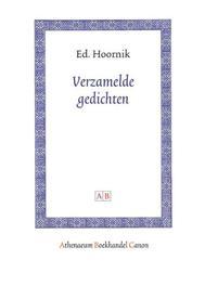 Verzamelde gedichten Amsterdam Academic Archive, Hoornik, Ed, Paperback