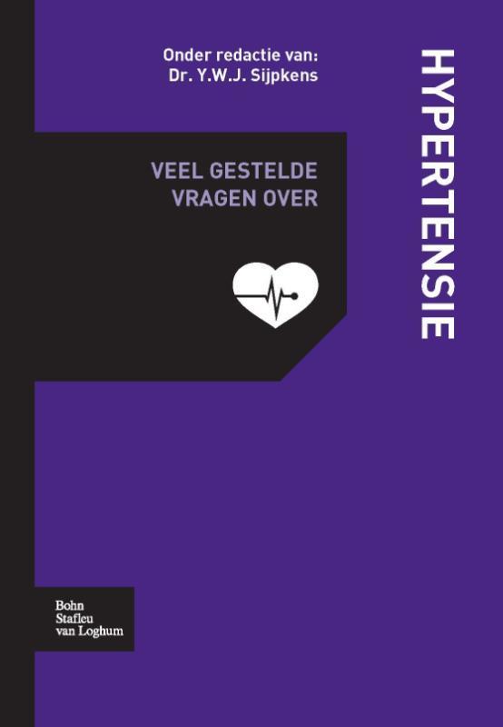 Veel gestelde vragen over hypertensie SIJPKENS  Y., Paperback