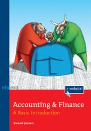 Accounting & Finance a basic introduction, Ewoud Jansen, Paperback