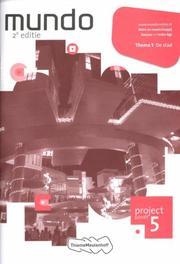 Mundo: Lerjaar 1 / vmbo-kgt: Projectschrift 5 De stad Mens en maatschappij, Goffeng, Liesbeth, Paperback