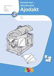 Ajodakt Taal, Puzzelen met Wrdsch gr5, Werkboek 5 ex Paperback