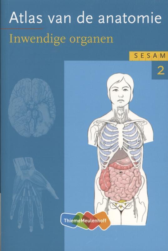 Sesam Atlas van de anatomie: 2 Inwendige organen Fritsch, Helga, Paperback