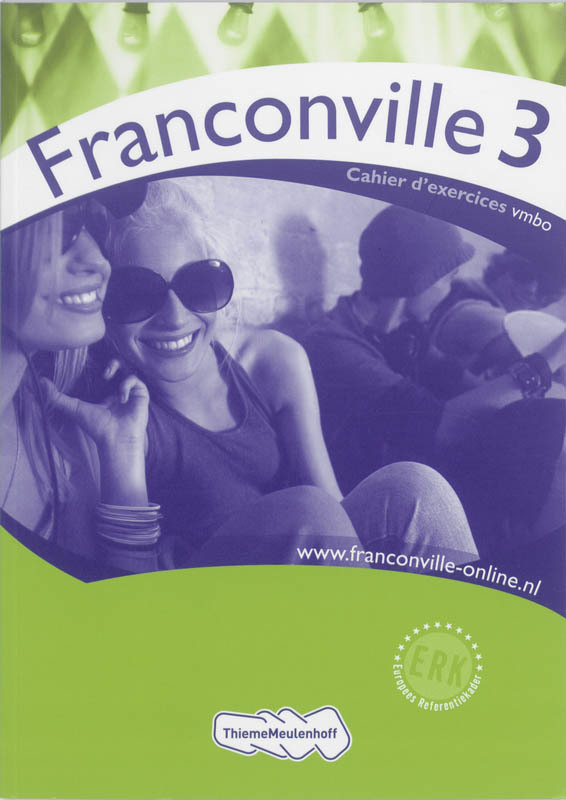 Franconville 3: VMBO: Cahier d' exercices Bakker-van de Panne, Wilma, Paperback