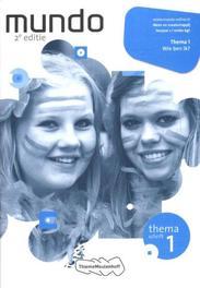 Mundo: 1 vmbo-kgt Wie ben ik?: Themaschrift 1 Coffeng, Liesbeth, Paperback