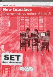 New Interface  (set 5ex) 3 vmbo b(k) Grammatica scheurblok  red label, Paperback