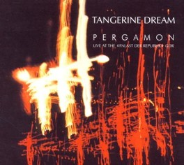 PERGAMON NEWLY REMASTERED LIVE ALBUM, RECORDED IN JANUARY 1980 TANGERINE DREAM, CD