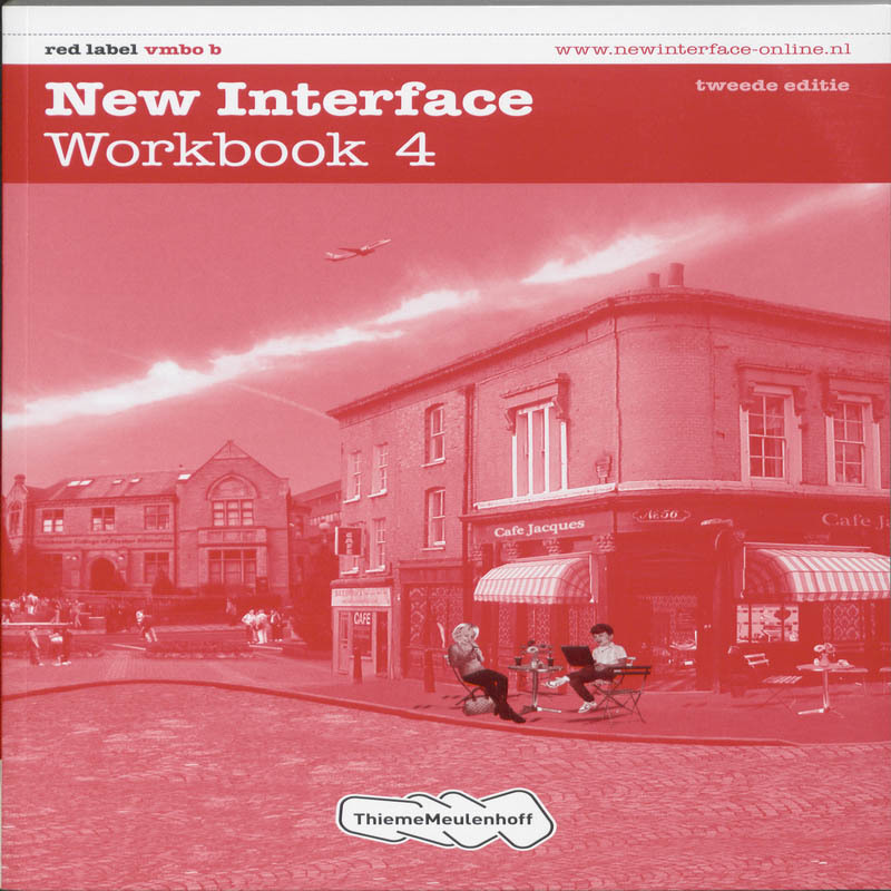 New Interface: Red label vmbo b: Workbook 4 Cornford, Annie, Paperback