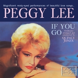 IF YOU GO PEGGY LEE, CD