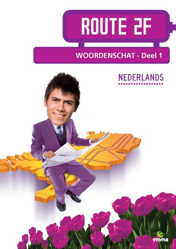 Route 2F: deel 1 Woordenschat Nederlands, Barge, Katrui ten, Paperback