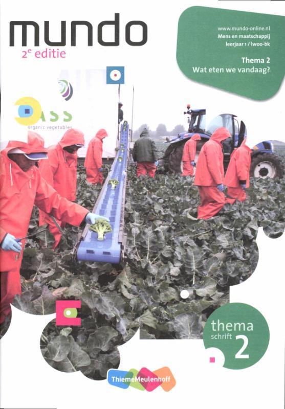 Mundo: Leerjaar lwoo-bk: Themaschrift 2 wat eten we vandaag Mens en maatschappij, Haffmans, Hannebeth, Paperback