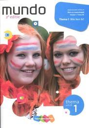 Mundo 1: 1 lwoo-bk Wie ben ik: Themaschrift 1 Haffmans, Hannebeth, Paperback