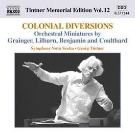 TINTNER MEMORIAL EDITION NOVA SCOTIA S.O. GRAINGER/LILBURN/BENJAMIN, CD
