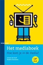 Het mediaboek hoe kom je in de media?, Steinmetz, Stephan, Paperback