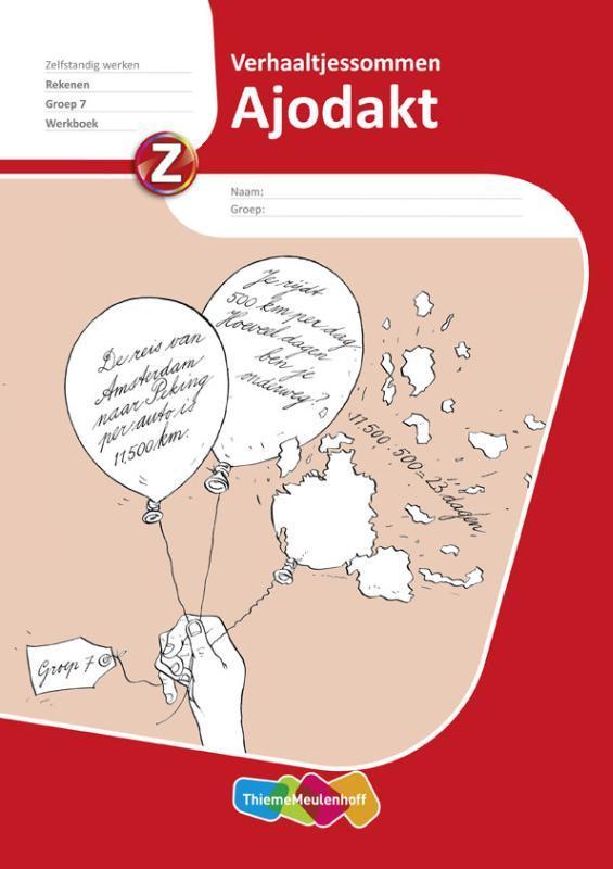 Ajodakt Rekenen, Verhaaltjessommen gr6, werkboek 5ex Paperback