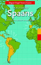Taaltempo Spaans training van begrip en antwoord, Tavera-Gaona, Miguel-Ángel, Paperback