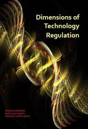 Dimensions of technology regulation Paperback