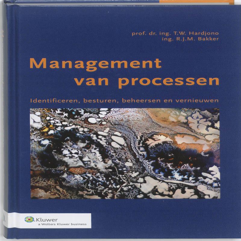Management van processen identificeren, besturen, beheersen en vernieuwen, T.W. Hardjono, Hardcover