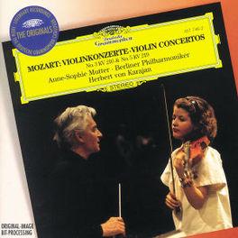 VIOLIN CONCERTOS MUTTER/BERLINER PHILHARMONIKER/KARAJAN Audio CD, W.A. MOZART, CD