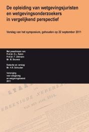De opleiding van wetgevingsjuristen en wetgevingsonderzoekers in vergelijkend perspectief verslag van het symposium, gehouden op 22 september 2011, E.L. Rubin, Paperback