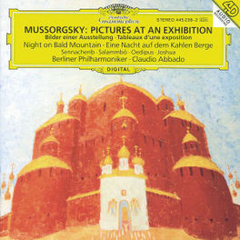 PICTURES AT AN EXHIBITION BP/ABBADO Audio CD, M. MUSSORGSKY, CD