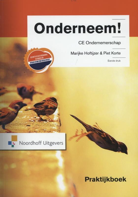 Onderneem!: CE ondernemerschap: Praktijkboek Hoftijzer, Marijke, Paperback