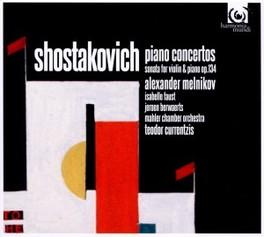 PIANO CONCERTOS 1 & 2 MAHLER CHAMBER ORCHESTRA/MELNIKOV D. SHOSTAKOVITCH, CD