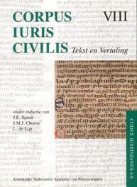 Corpus Iuris Civilis VIII Codex Justinianus 4 - 8 VIII Codex Justinianus iv-viii tekst en Vertaling, Hardcover