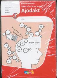 Ajodakt Hoofdrekenen Tafels t/m 10 en hoger 5ex: Gr 5-6: Werkboek TR2 tekstproducties, Paperback