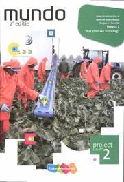 Mundo 1 vmbo-bk: 1 lwoo-bk Wat eten we vandaag?: Projectschrift 2 Hannebeth Haffmans, Paperback