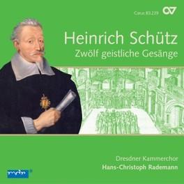 COMPLETE RECORDINGS VOL.4 DRESDNER KAMMERCHOR/H.C.RADEMANN H. SCHUTZ, CD