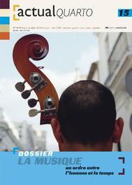 ActualQuarto 15 - La musique Un ordre entre l'homme et le temps, Hardcover