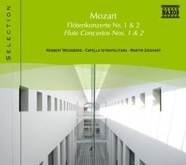 FLUTE CONCERTOS 1 & 2 WEISSBERG W.A. MOZART, CD