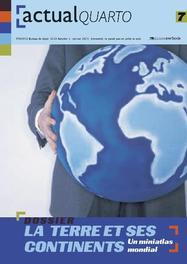 ActualQuarto 7 - La terre et ses continents Hardcover