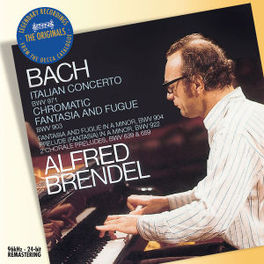 ITALIENISCHES KONZERT/CHR W/ALFRED BRENDEL Audio CD, J.S. BACH, CD