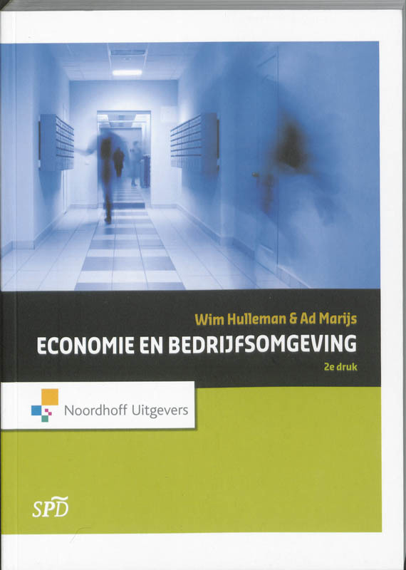 Economie en bedrijfsomgeving Wim Hulleman, Paperback