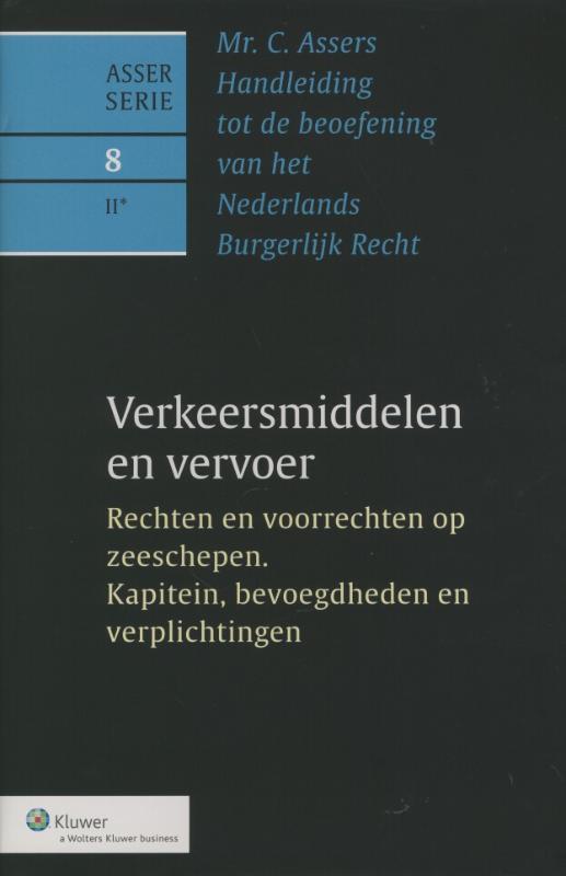 Rechten en voorrechten op zeeschepen. Kapitein, bevoegdheden en verplichtingen Verkeersmiddelen en vervoer, R.E. Japikse, Hardcover