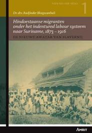 De nieuwe awatar van slavernij Hindoestaanse migranten onder het indentured labour systeem naar Suriname, 1873-1916, Bhagwanbali, Radjinder, Paperback