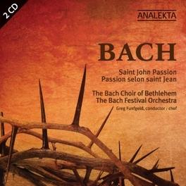 ST. JOHN PASSION BACH CHOIR OF BETHLEHEM/G. FUNFGELD J.S. BACH, CD