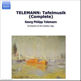 MUSIQUE DE TABLE ORCHESTRA OF THE GOLDEN AGE G.P. TELEMANN, CD