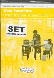 New Interface  set 5 ex. Grammatica scheurblok 3 vmbo (k)gt Paperback