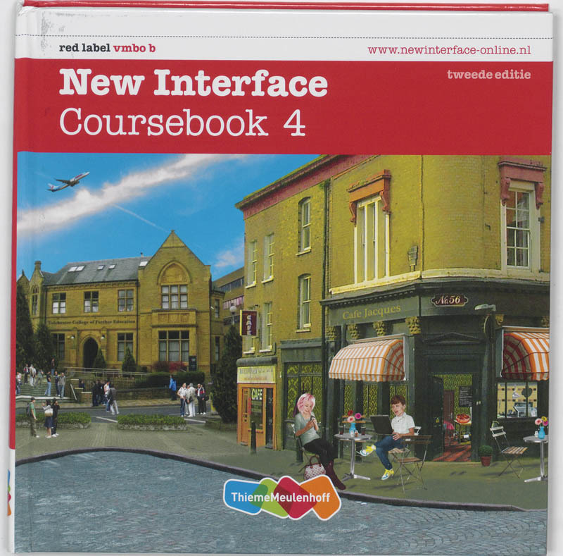 New Interface: 4 red label vmbo b: Coursebook Annie Cornford, Hardcover