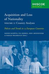 Acquisition and Loss of Nationality 2 Country Analyses