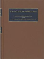 Justiz und NS-Verbrechen: XXXVIII