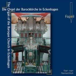 ORGAN BAROQUE CHURCH.. .. ECKENHAGEN//KLUTH, REINHARD Audio CD, M.G. FISCHER, CD