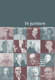 16 juristen en hun filosofische inspiratie Paperback