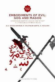 Embodiments of Evil: Gog and Magog interdisciplinary Studies of the 'Other' in Literature & Internet Texts, Paperback