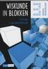 Wiskunde in blokken: 3 Werktuigbouwkunde / bouwkunde: Werkboek