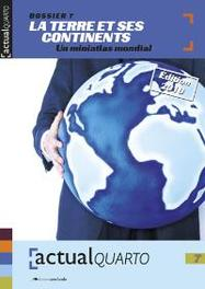 ActualQuarto 7 - La terre et ses continents Mahy Coumont, Nicole, Hardcover