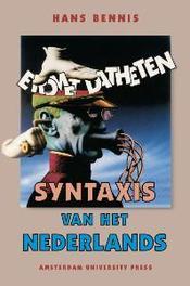 Syntaxis van het Nederlands 11 hoofdstukken van de zin, H. Bennis, Paperback